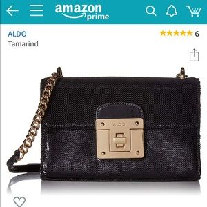 NWT classy sequin sophisticated crossbody purse